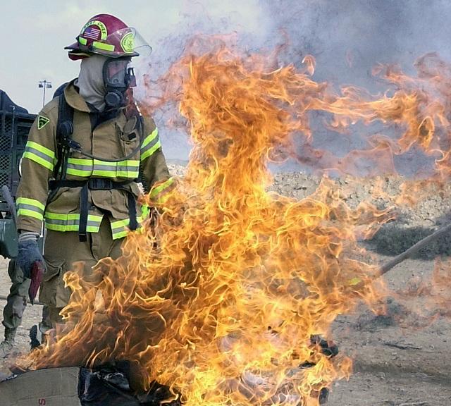 Sergeant (SGT) Daniel Delaney, USA, 95th Fire Fighting