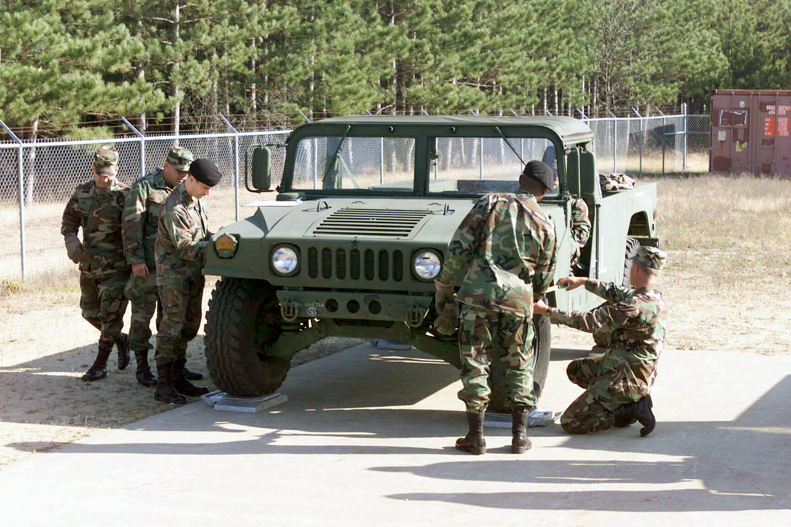 US Army Reserve Readiness Training Center (ARRTC) students