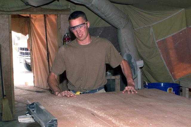 Berthing (Tent, Extendable, Modular, Personnel (TEMPER