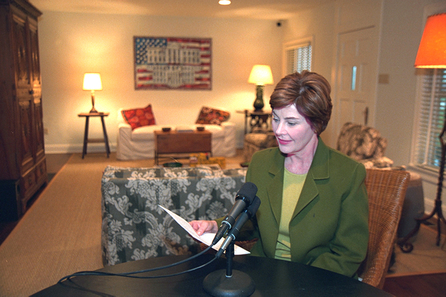 Mrs. Laura Bush Radio Address