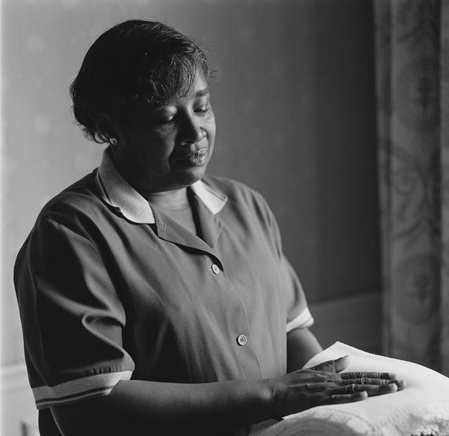 Portrait of Annie Elizabeth Brown, White House Residence Housekeeper