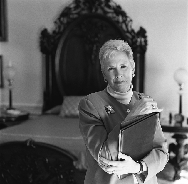 Portrait of Christine Limerick, White House Residence Executive Housekeeper.