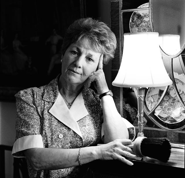 Portrait of Betty J. Finney, White House Residence Housekeeper