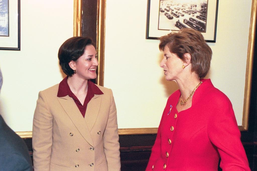 Chesapeake Bay Program, Administrator Christine Todd Whitman, Mellon Auditorium [412-APD-A42-ROLL1ED1_015_15.JPG]