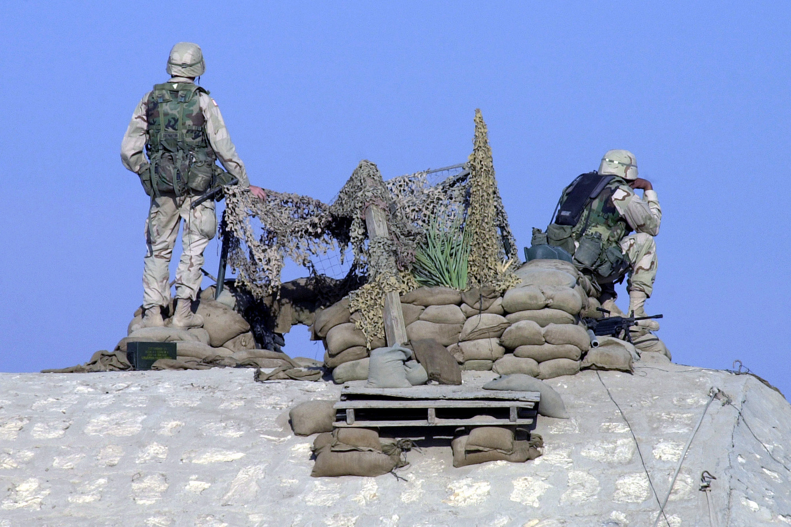 Soldiers on guard 1