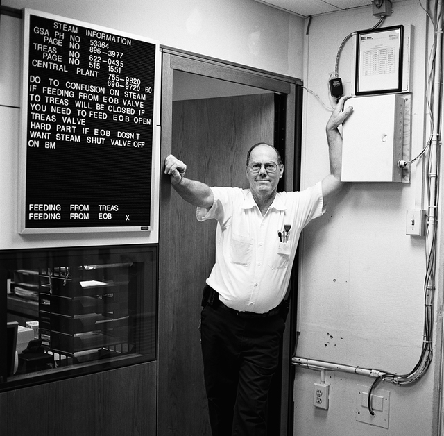 Portrait of Edward Ambrose Windsor, White House Chief Engineer