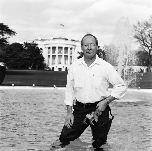 Portrait of Gary E. Williams, White House Chief Plumber