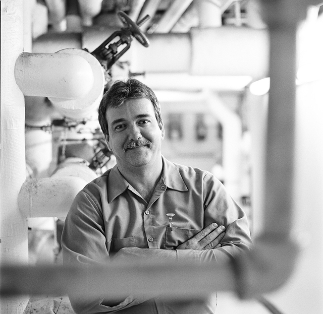 Portrait of Ronald J. Smith, White House Engineer