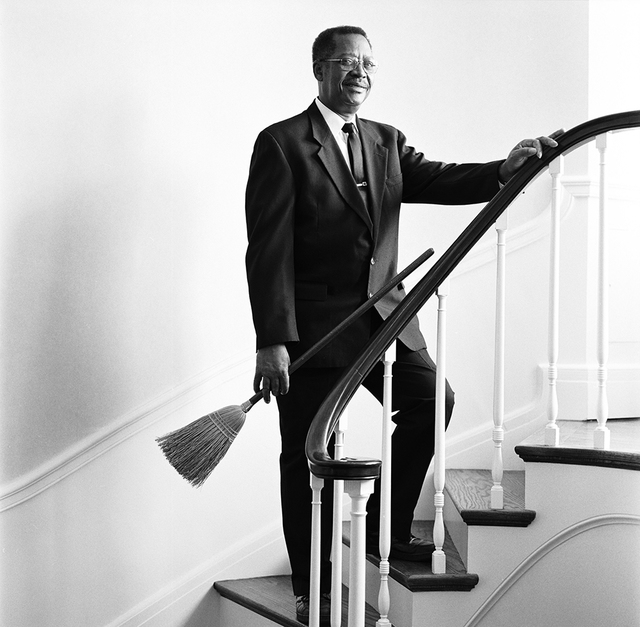 Portrait of Lindsey R. Little, White House Housekeeper