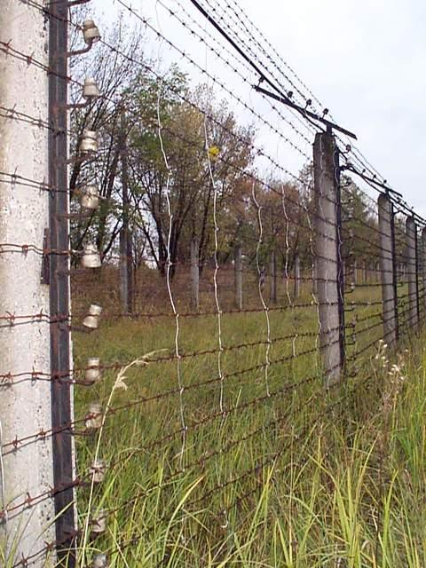 Ukraine - ICBM SILO - Dismantlement Project, WGI, March 2002 - Security Fence PKhZ