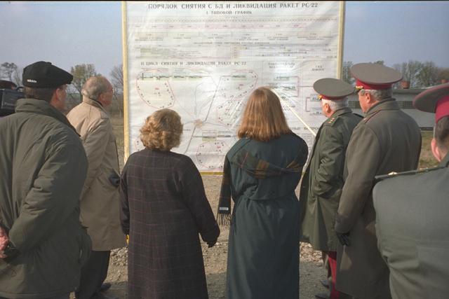 WMD Dismantlement - Senator Sam Nunn visit to various former Soviet Union (FSU) Weapons of Mass Destruction (WMD) production facilities, undated, unknown location