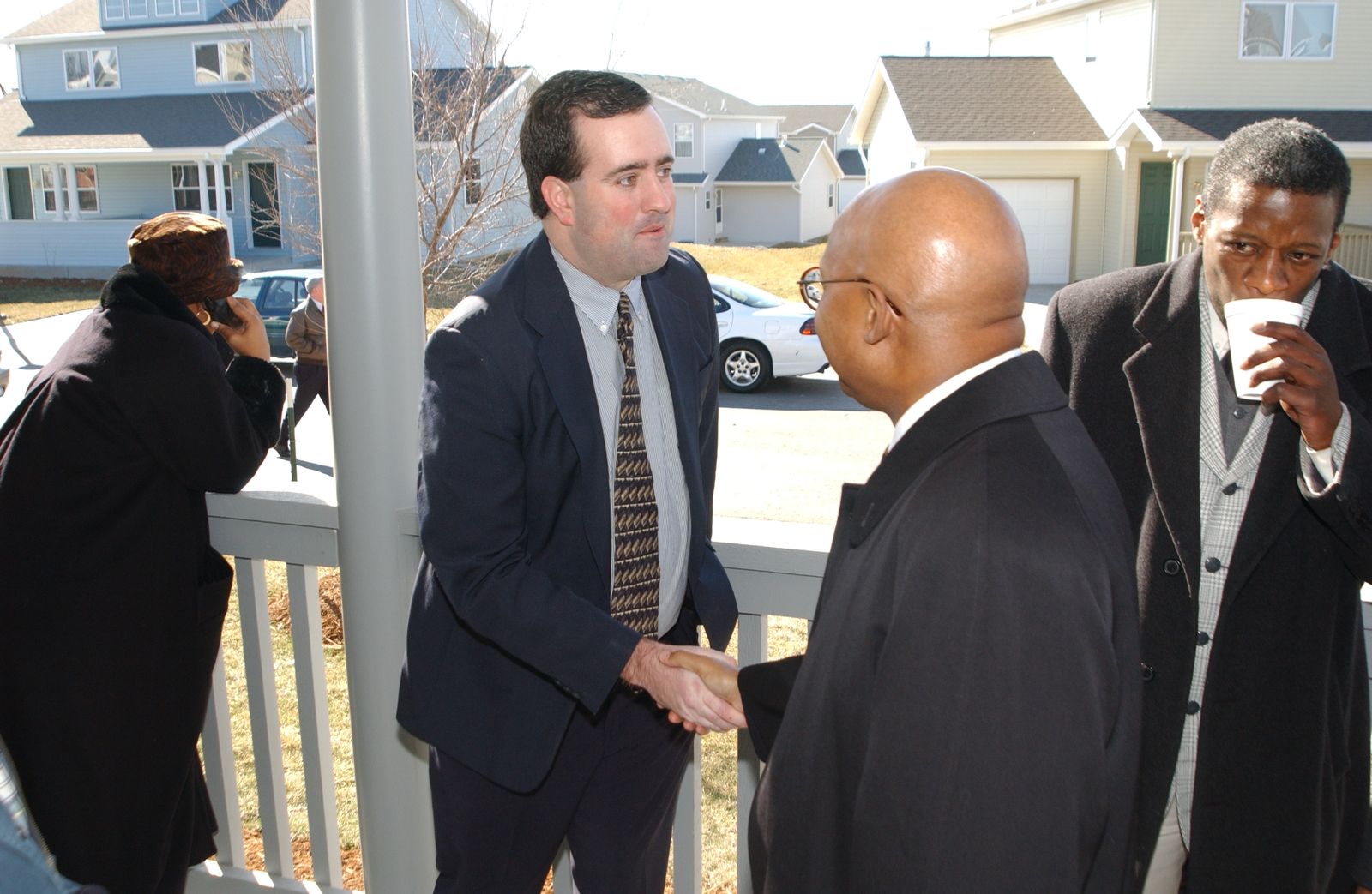 Deputy Secretary Alphonso Jackson in Kansas City, Missouri