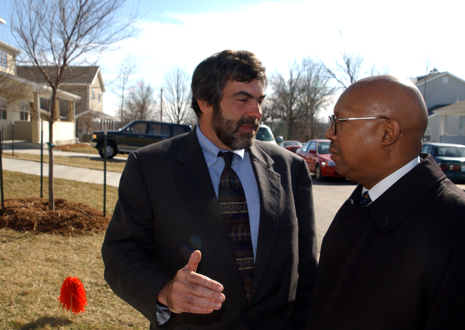 Deputy Secretary Alphonso Jackson in Kansas City, Missouri