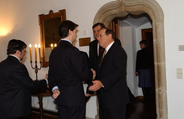Secretary Martinez in Santiago, Spain