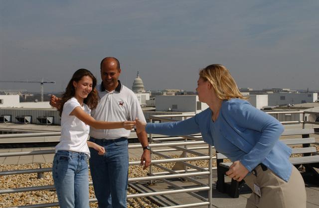 Robert and Raquel Rodriguez--Guests of Secretary Mel Martinez