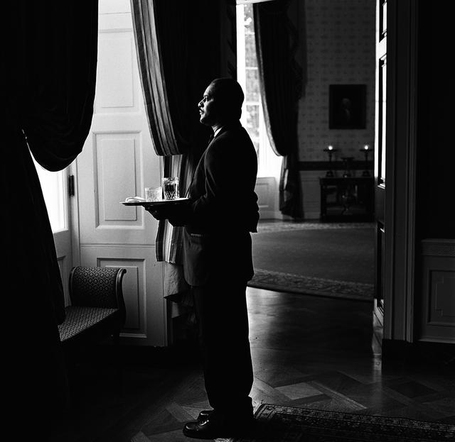 Portrait of William A. Carter (Buddy), White House Assistant Maitre D'
