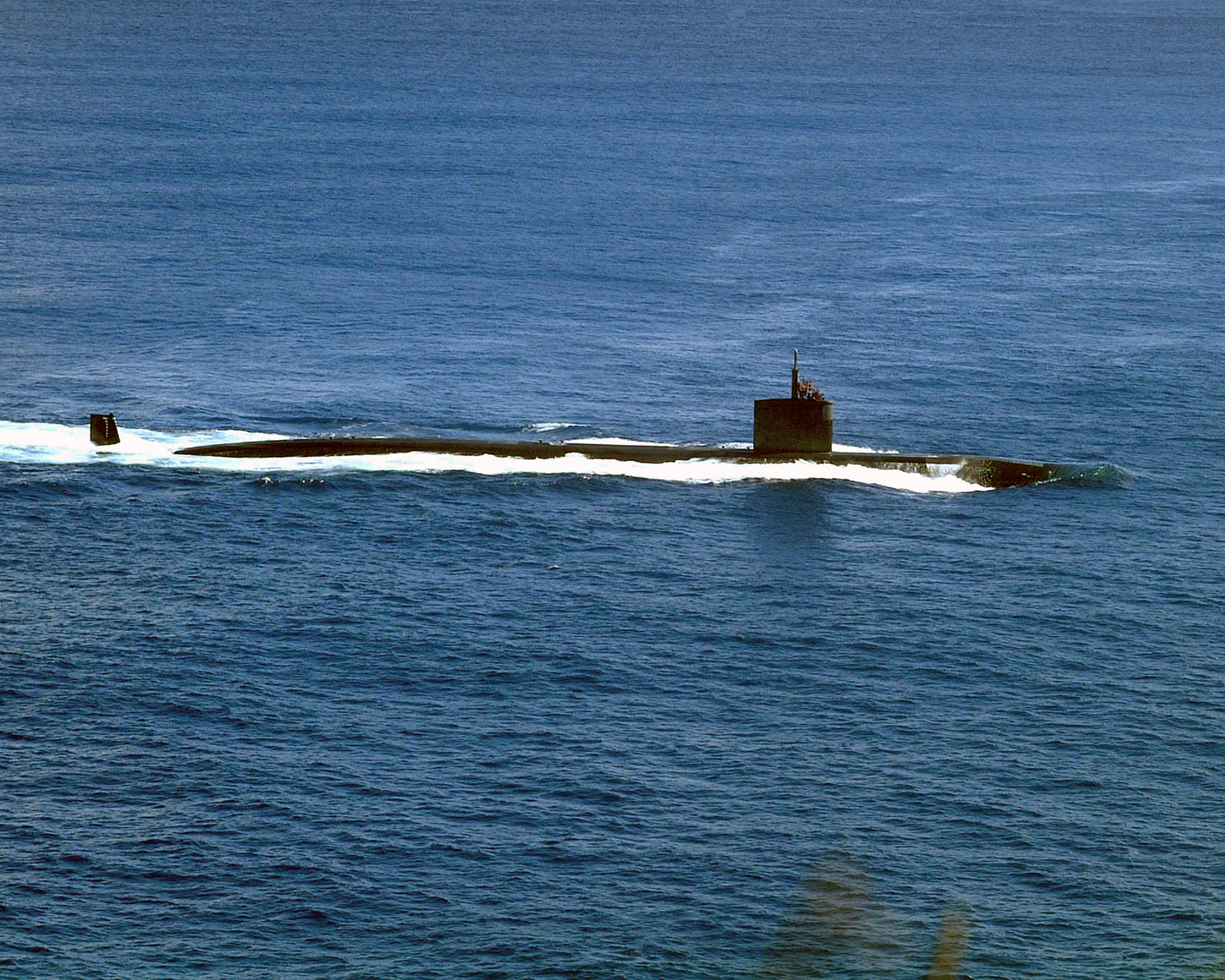 The LOS ANGELES class Attack Submarine USS TUCSON (SSN 770