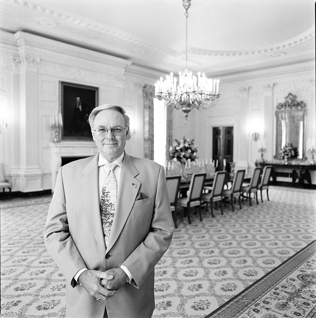 """Portrait of James W.F. """"Skip"""" Allen, White House Usher"""
