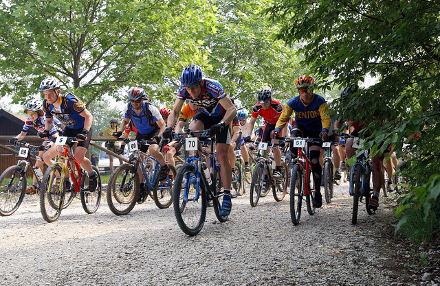 Various competitors began the start of the US Forces Europe Mountain Bike Series held in the mountains near Aviano Air Base (AB), Italy