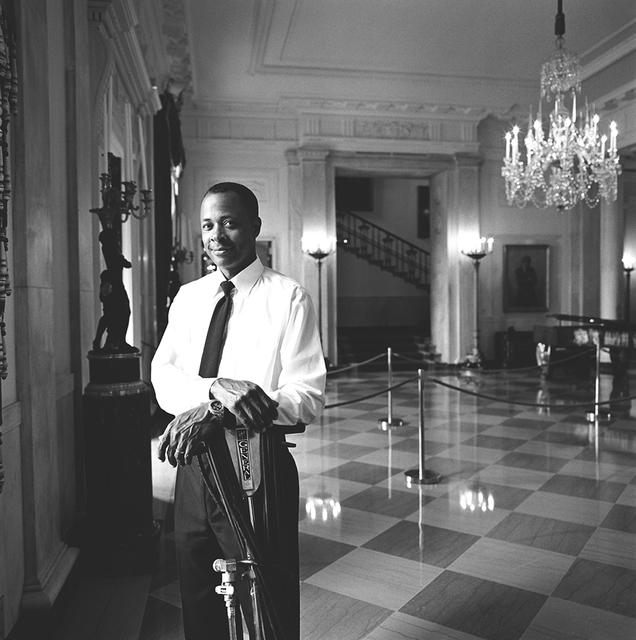 Portrait of Benjamin G. Kelly, White House Houseman