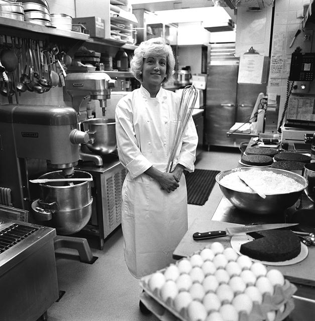 Portrait of Susan Morrison, White House Assistant Pastry Chef