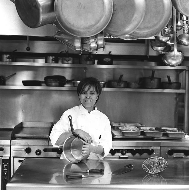Portrait of Cristeta Pasia Comerford, White House Assistant Chef