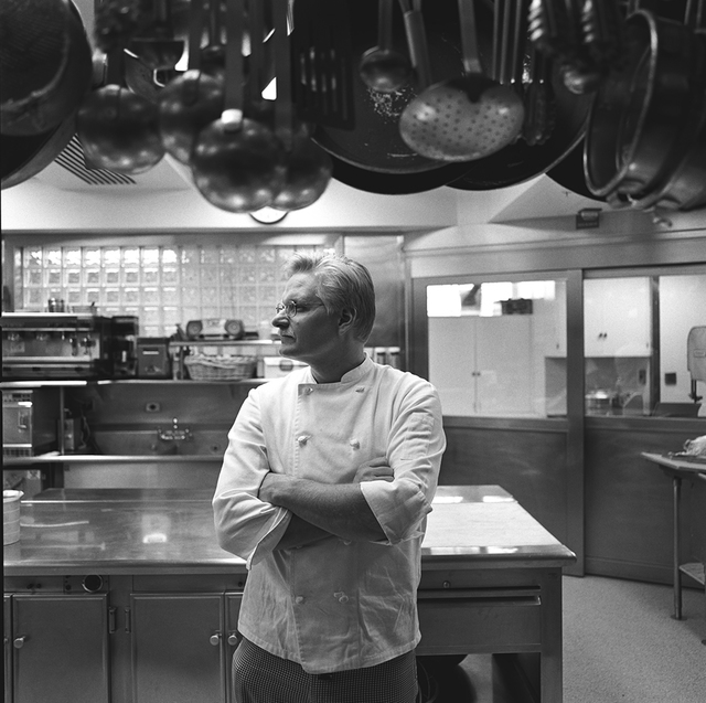 Portrait of John Arnold Moeller, White House Assistant Chef