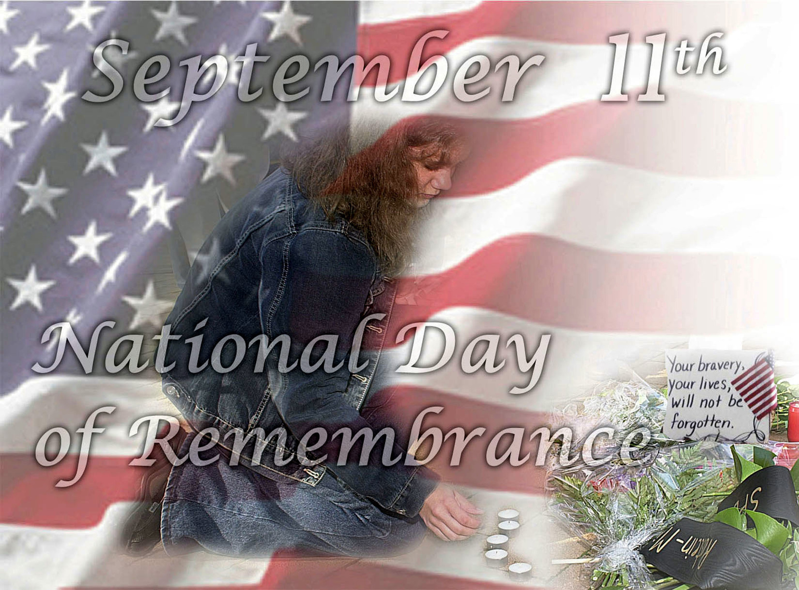 Poster art created for a ceremony held at Headquarters US Southern Command (USSOUTHCOM) for National Day of Remembrance. Created by Thomas Pattison, CIV, USA