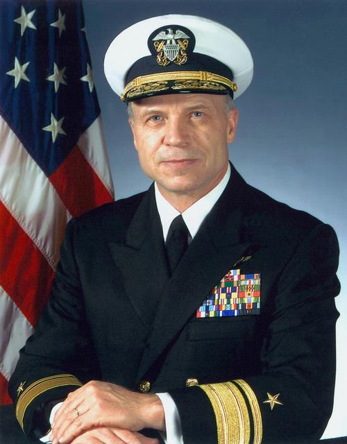 Portrait: US Navy (USN) Rear Admiral (RADM) (upper half) Kenneth F. Heimgartner, Director, Fleet Readiness Division, N43. (Covered)