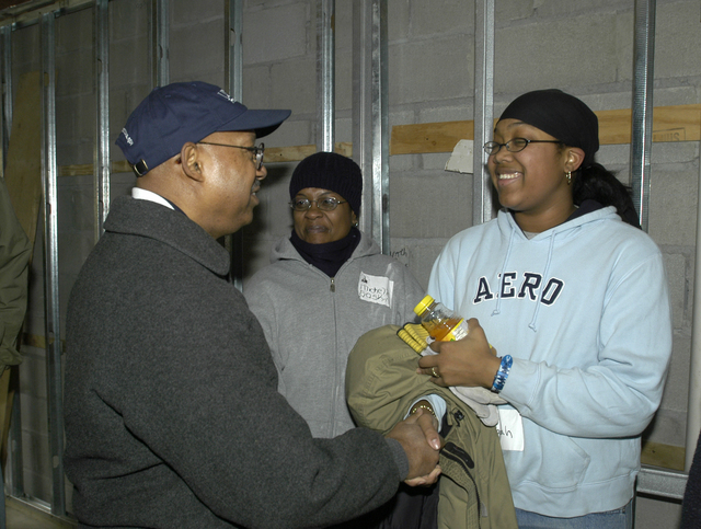Deputy Secretary Alphonso Jackson at Habitat for Humanity Event in New York City
