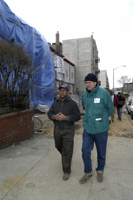 Deputy Secretary Alphonso Jackson at Habitat for Humanity Event in New York City