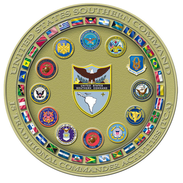 This seal design identifies the Traditional Commander's Activities directorate.  This seal is used for the occasional book covers, posters, web pages and coins. (U.S. Army PHOTO by unknown) (Released)