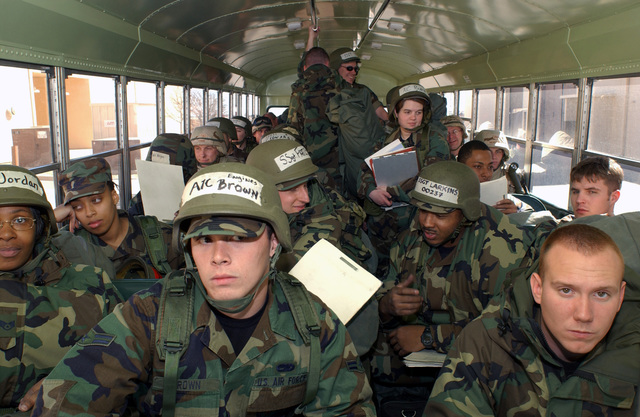 US Air Force (USAF) Airmen assigned to the 27th Equipment