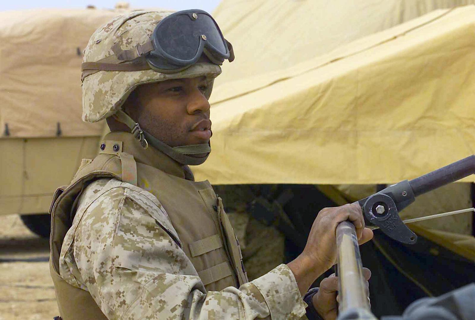 Us Marine Corps Usmc Gunnery Sergeant Gysgt John Scott Locks
