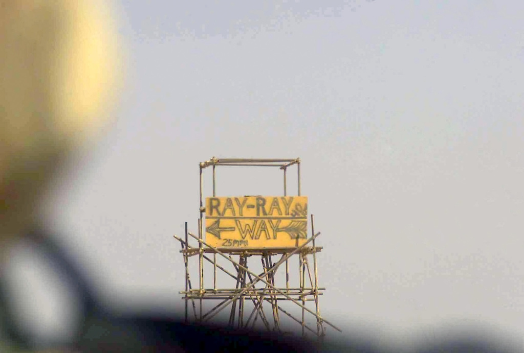 A security tower operated by US Army (USA) Soldiers at an unidentified Base Camp located in Kuwait, during Operation ENDURING FREEDOM
