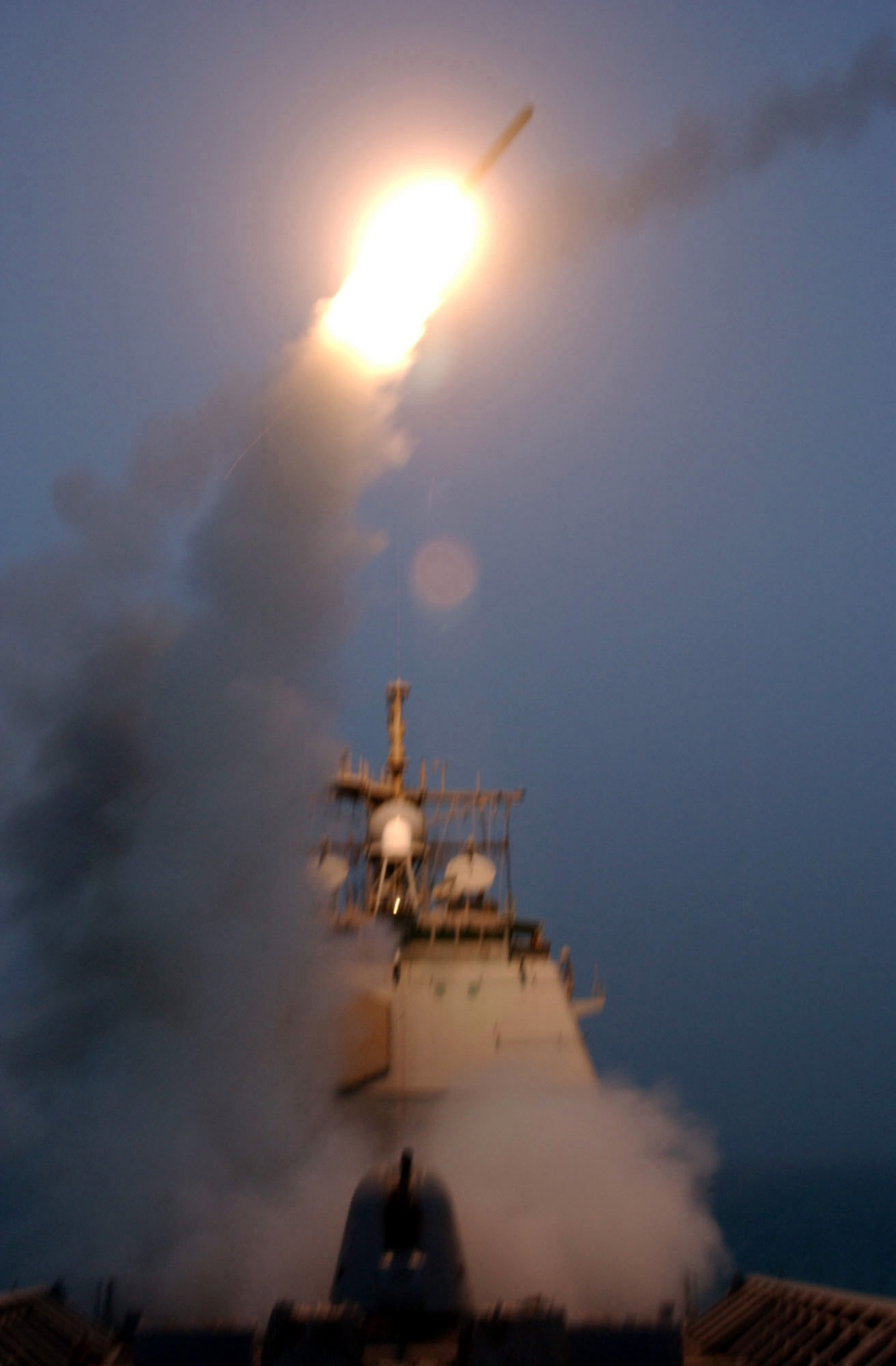 The US Navy (USN) TICONDEROGA CLASS: Guided Missile Cruiser
