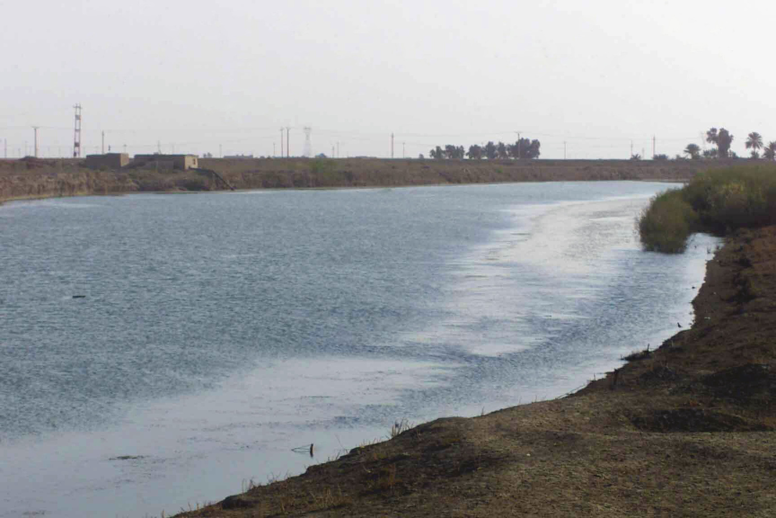 The Euphrates River as seen by the US Marine Corps (USMC