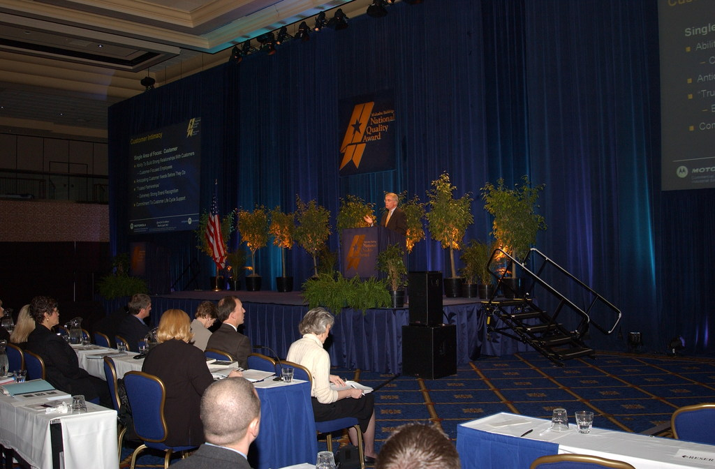 [Assignment: NIST_2003_2160_1] National Institute of Standards and Technology - QUEST EXCELLENCE CONFERENCE BALDRIGE AWARDS [40_CFD_NIST_2003_2160_1_DSC_2270.JPG]