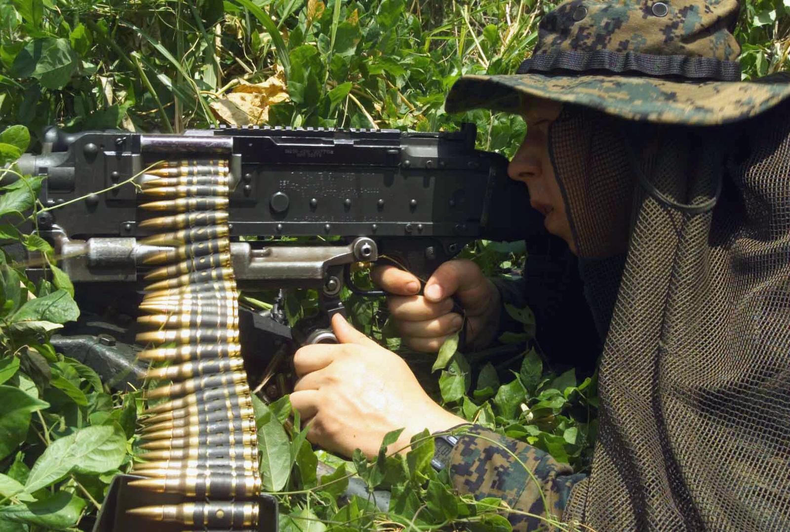 US Marine Corps (USMC) Infantryman Private First Class (PFC