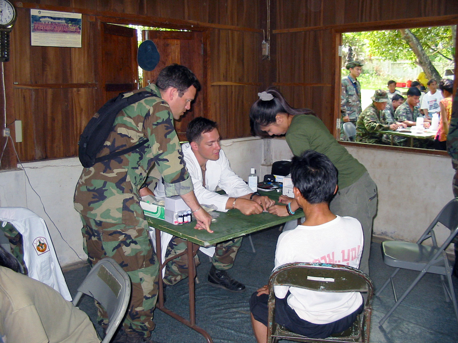 US Army (USA) Medical Doctors assigned to 2nd Battalion, 1ST