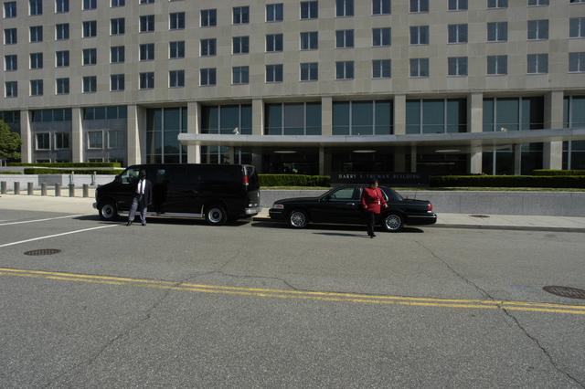 [Assignment: 59-CF-SA-4881D-03] Department facilities views, for Web use:  Official vehicle fleet [Photographer: Mark Stewart--State] [59-CF-SA-4881D-03_Fleet01.jpg]