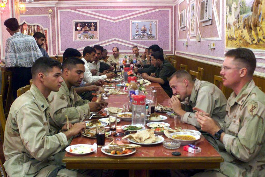 US Marine Corps (USMC) Marines and US Army (USA) Soldiers