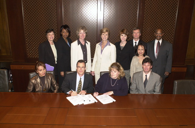 Judy Davis Contract signing with Christine Todd Whitman [412-APD-A136-DSC_0168.JPG]