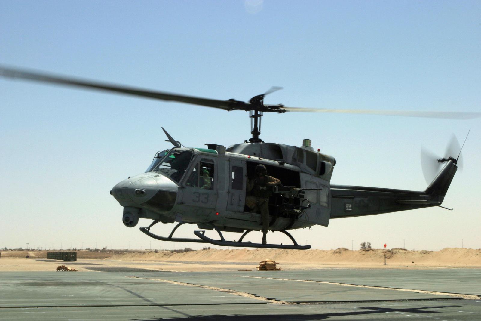 U.S. Marine Huey