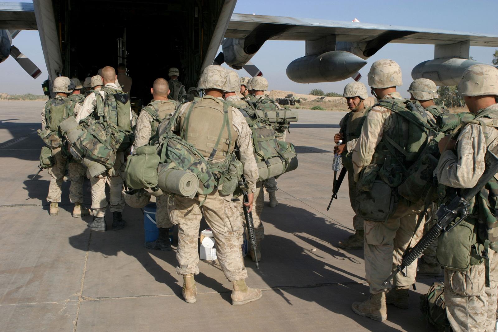 Us Marine Corps Usmc Marines Assigned To Kilo Company 3rd