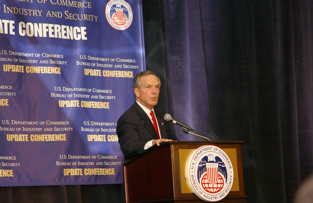 [Assignment: BIS_2004_8484_1] Bureau of Industry and Security - UPDATE 2003 CONFERENCE [40_CFD_BIS_2004_8484_1_Evans_BISUpdate_DSC_5107.JPG]