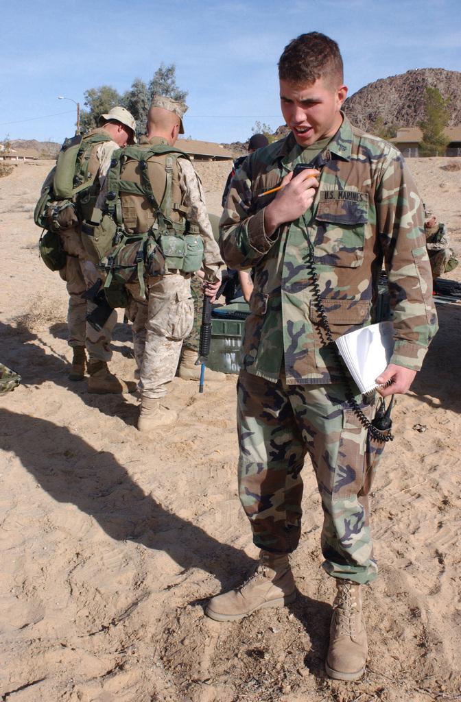 US Marine Corps (USMC) Corporal (CPL) Douglas C. Martin, Alpha ...