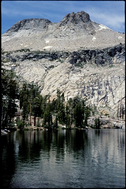 Library of Environmental Images, Office of Research and Development (ORD), September 1996 - Scenic/General - Reflection of mountain in alpine lake (CA)
