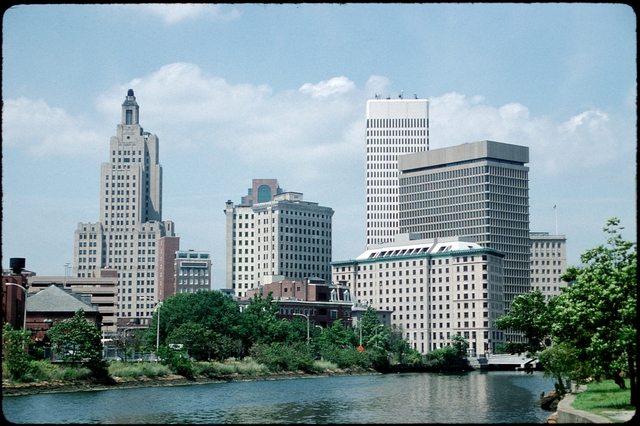 Library of Environmental Images, Office of Research and Development (ORD), September 1996 - Scenic/General - Skyscrapers with river in foreground (RI)