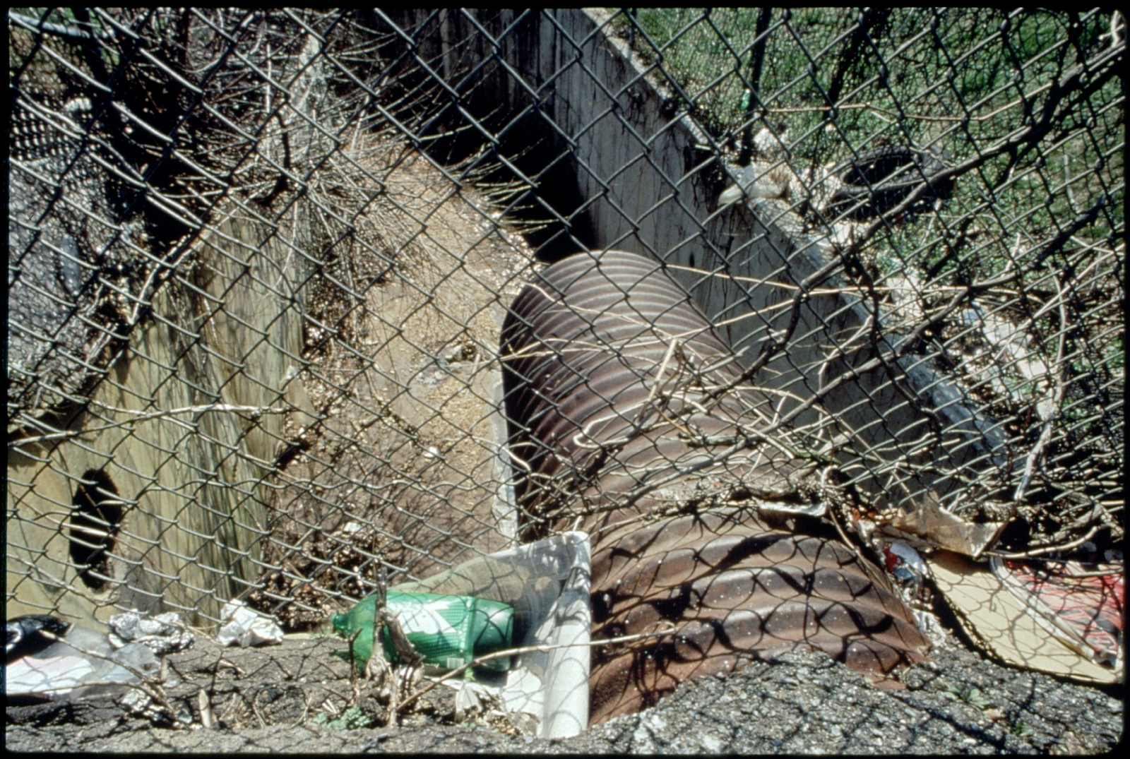 Library of Environmental Images, Office of Research and Development (ORD), September 1996 - Pollution Prevention - Debris near pipe